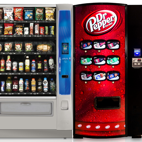 Vending machines in a Orlando and Central Florida break room